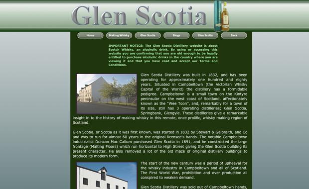 glenscotia-website