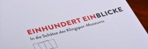 Einhundert Einblicke – Katalog für das Klingspor Museum Offenbach