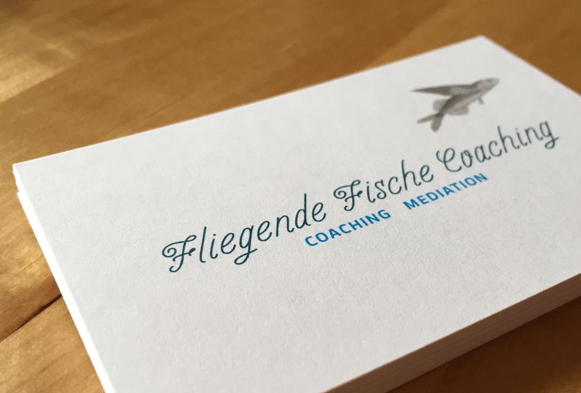 Corporate Design Für Fliegende Fische Coaching Designmacherei
