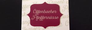 Offenbacher Pfeffernüsse