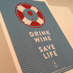 DRINK WINE // SAVE LIFE!